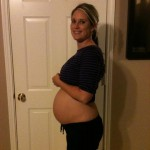 30 Weeks – A Peek At His Features