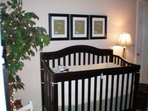Sneak Peak at Nursery!