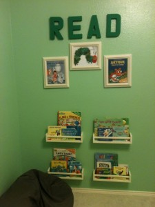 Reading Corner and More Projects