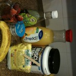 Stawberry-Banana Protein Smoothie