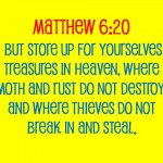 Monday's MST: Treasures – Living Within Your Means