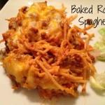Baked Ranch Spaghetti