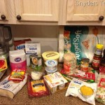 Meal Plan and Groceries