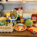 Groceries/Meal Plan March #4 (last one)