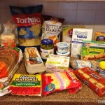 Groceries/Meal Plan April #1