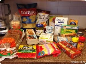 Groceries/Meal Plan April #1