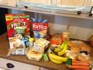 Groceries/Meal Plan April #3 PLUS an ORGANIZED FRIDGE & a FOOD STORAGE TIP