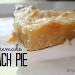 HOMEMADE PEACH PIE…any fruit pie!