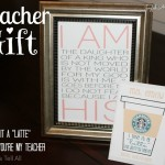 TEACHER GIFT – Back to School, Christmas, Birthday, or End of Year