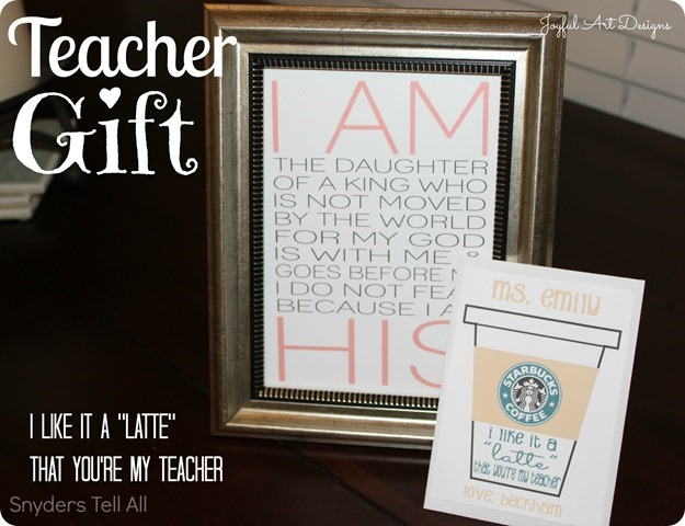 Teacher Gift Back To School Christmas Birthday Or End