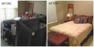 Organized Guest Bedroom…Soon to be Nursery