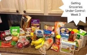 Getting Groceries Under Control: Part 4–Week 3