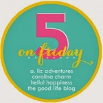 5 on Friday – Organizing Organizing Organizing