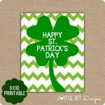 Inexpensive and Cute Printable Décor for St. Patrick's Day!