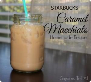 Starbucks Iced Caramel Macchiato Homemade