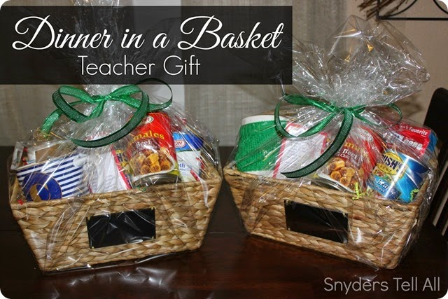 Teacher or anyone gift and how to dress up a gift card basket gift negle Images
