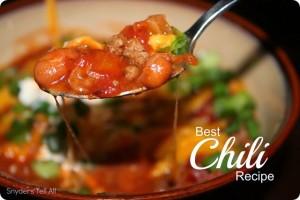 Chili and Cornbread Recipe