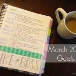 March 2015 Goals