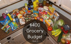 The Groceries We Buy Week 3