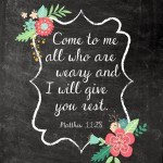 Freebie Friday – FREE Encouraging Chalkboard Printable