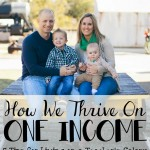 5 Tips for Living on One Income
