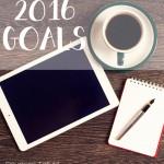2016 Goals: A Fresh Start