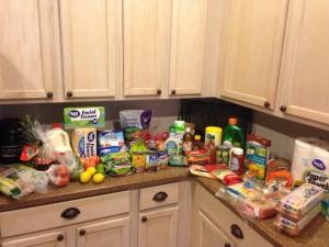 Groceries & Meals: Week 1 February