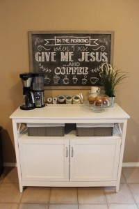 Cute & Simple Coffee Station