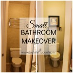 Small Bathroom Makeover and Friday Favorites