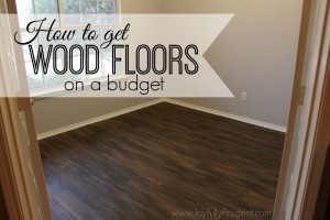 How To Get Wood Floors on a Budget – Vinyl Wood