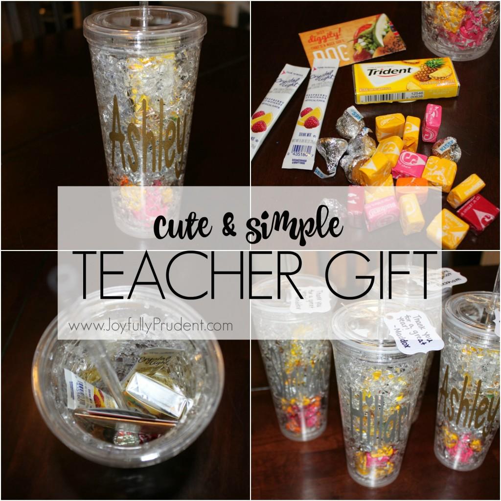 teacher gift cute simple