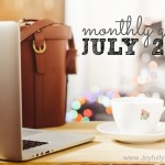 July 2016 Goals + A FREE Printable