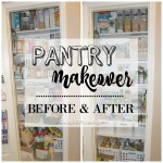 Organized Pantry: Before and After