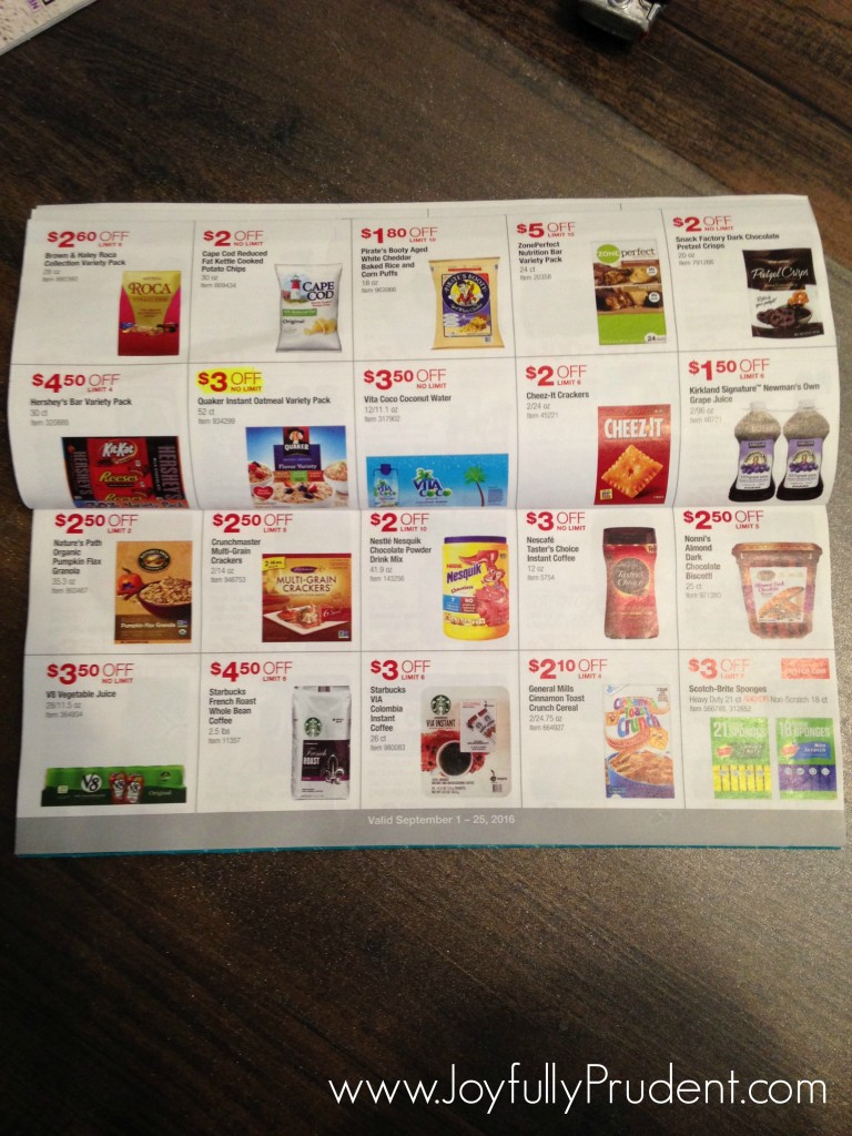 inside costco coupon book