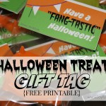 Halloween Treats FREE Printable