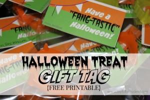 Halloween Treats FREE Printable