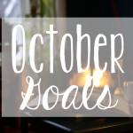 October 2016 Goals