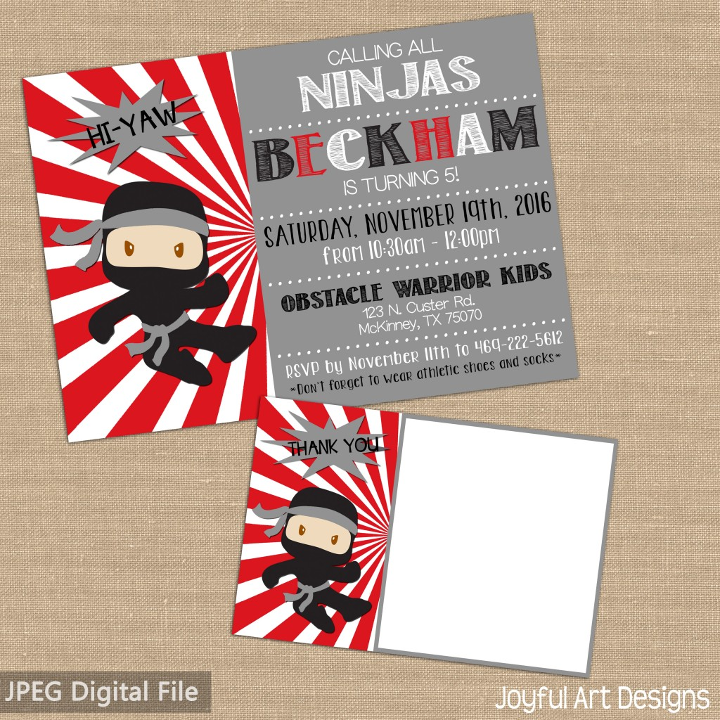 etsy-ninja-party-invite-thank-you-lighter