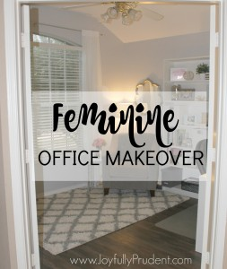 Feminine Office Makeover Tour