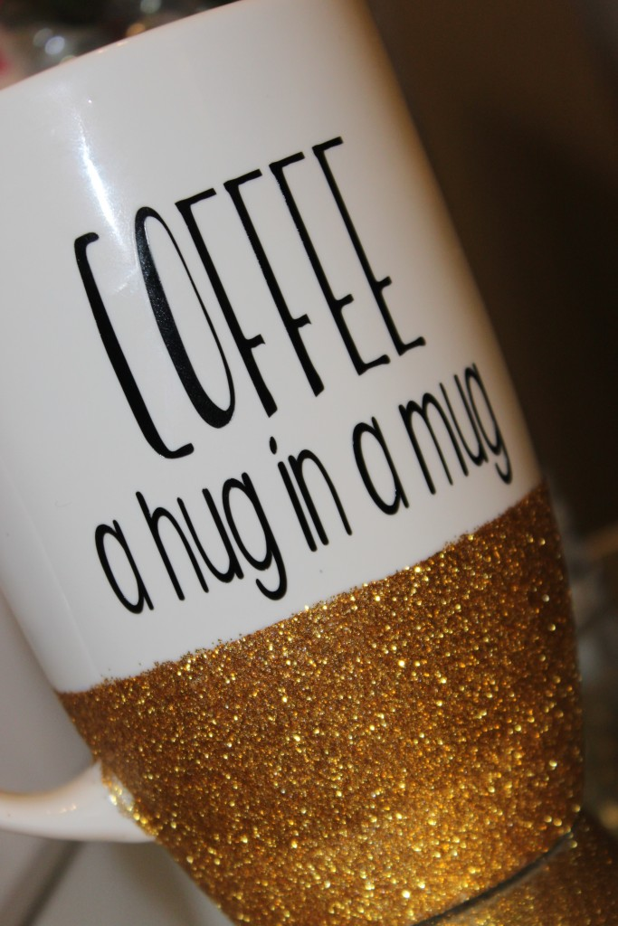 DIY How To Make A Glitter Dipped Mug And Wine Glass Joyfully - Vinyl cup care instructions
