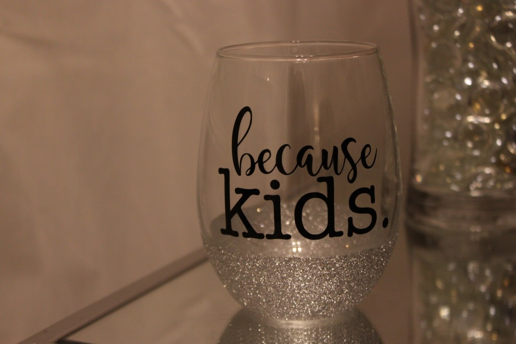 Diy How To Make A Glitter Dipped Mug And Wine Glass Joyfully Prudent
