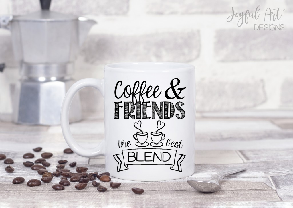 coffee and friends the best blend