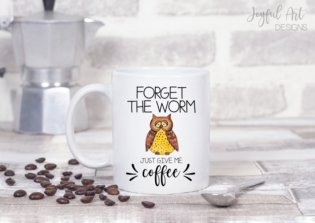 Funny coffee mug night owl
