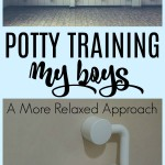 Potty Training 2 Boys