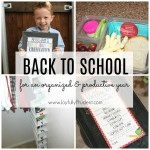 Workin It Wednesdays: Organized Back to School + FREE Printable