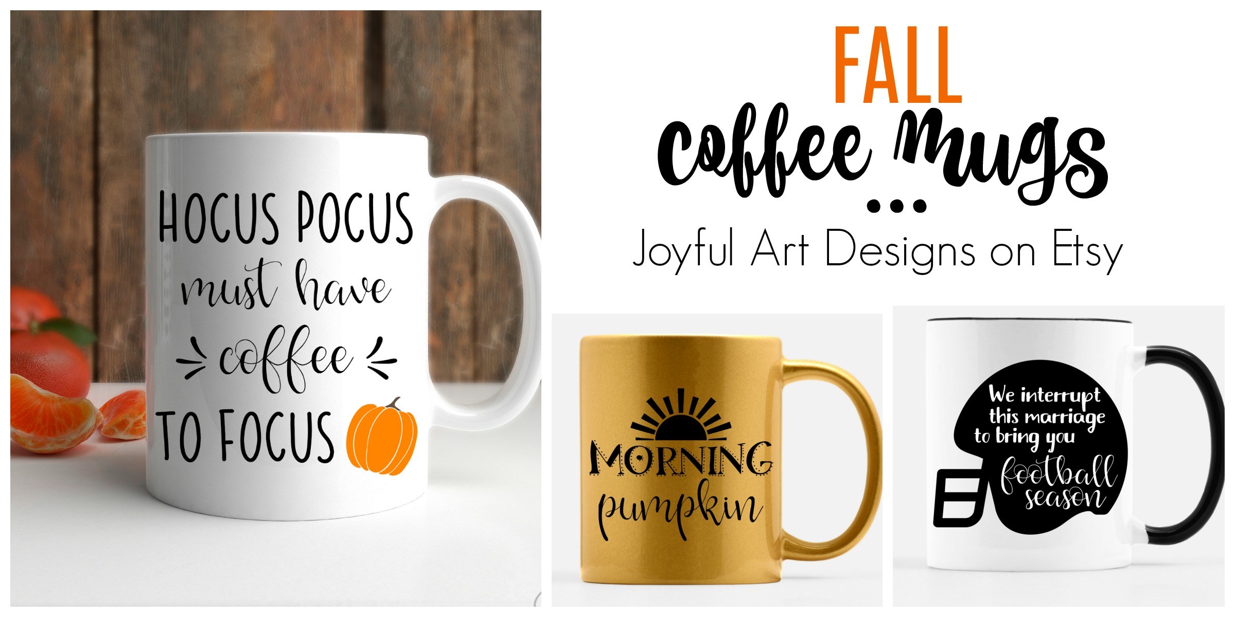 Fall Coffee Mugs