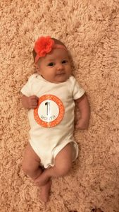 Dear Brielle: 1, 2, 3 Month Update