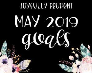May 2019 Goals