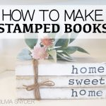 How To Make Stamped Books